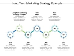 Long Term Marketing Strategy Example Ppt PowerPoint Presentation Styles Show Cpb