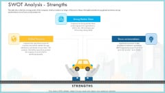 Loss Of Income And Financials Decline In An Automobile Organization Case Study Swot Analysis Strengths Mockup PDF