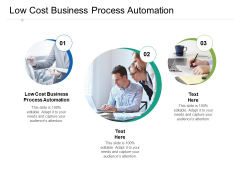 Low Cost Business Process Automation Ppt PowerPoint Presentation Summary Example File Cpb