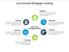 Low Income Mortgage Lending Ppt PowerPoint Presentation Portfolio Ideas Cpb