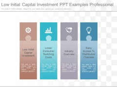 Low Initial Capital Investment Ppt Examples Professional
