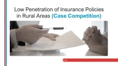 Low Penetration Of Insurance Policies In Rural Areas Case Competition Ppt PowerPoint Presentation Complete With Slides