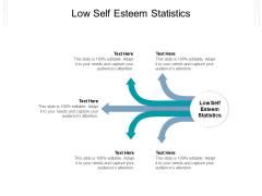 Low Self Esteem Statistics Ppt PowerPoint Presentation Outline Smartart Cpb Pdf