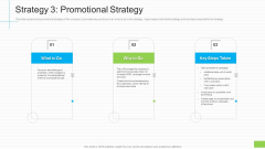 Lowering Sales Revenue A Telecommunication Firm Case Competition Strategy 3 Promotional Strategy Brochure PDF