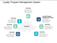 Loyalty Program Management System Ppt PowerPoint Presentation Show Model Cpb