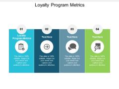 Loyalty Program Metrics Ppt PowerPoint Presentation Summary Grid Cpb