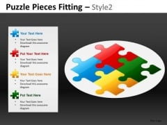 Label Each Piece Separately Puzzle PowerPoint Templates And Editable Slides