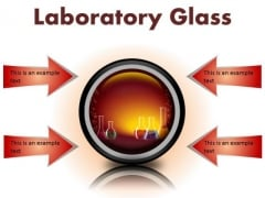 Laboratory Glass Science PowerPoint Presentation Slides Cc