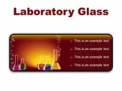 Laboratory Glass Science PowerPoint Presentation Slides R