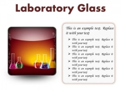 Laboratory Glass Science PowerPoint Presentation Slides S