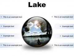 Lake Nature PowerPoint Presentation Slides C