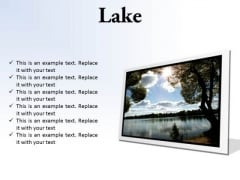 Lake Nature PowerPoint Presentation Slides F