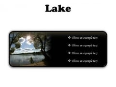 Lake Nature PowerPoint Presentation Slides R