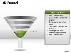 Last Stage 3d Funnel Diagram PowerPoint Slides Ppt Templates