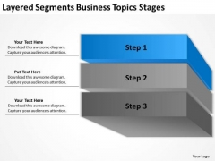 Layered Segments Business Topics Stages Ppt Plan PowerPoint Templates