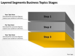 Layered Segments Business Topics Stages Ppt Plans Samples PowerPoint Slides