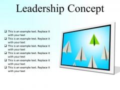 Leadership Concept Success PowerPoint Presentation Slides F