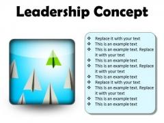Leadership Concept Success PowerPoint Presentation Slides S