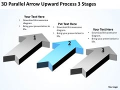 Levels Of Parallel Processing 3 Stages PowerPoint Templates Backgrounds For Slides