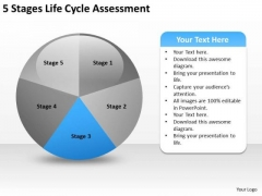Life Cycle Assesment How To Start Business Plan PowerPoint Templates