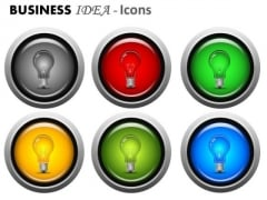 Light Bulb Ideas PowerPoint Graphics And Icons