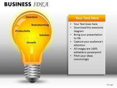 Light Bulb PowerPoint