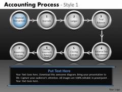 Linear Process Flow Diagram PowerPoint Slides Ppt Templates