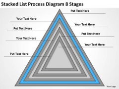 List Process Diagram 8 Stages Ppt Business Plan Outline Template PowerPoint Templates