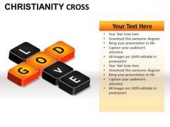 Love Jesus Christianity PowerPoint Slides And Ppt Diagram Templates