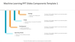 Machine Learning PPT Slides Machine Learning PPT Slides Components Template Icon Clipart PDF