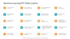 Machine Learning PPT Slides Machine Learning PPT Slides Outline Inspiration PDF