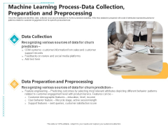 Machine Learning Process Data Collection Preparation And Preprocessing Ppt Professional Outline PDF