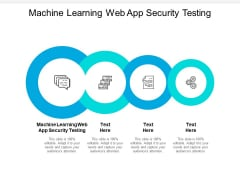 Machine Learning Web App Security Testing Ppt PowerPoint Presentation Gallery Slides Cpb