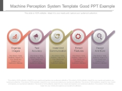 Machine Perception System Template Good Ppt Example