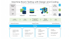 Machine Room Testing With Design And Coding Ppt PowerPoint Presentation File Slideshow PDF
