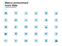 Macro Environment Icons Slide Ppt PowerPoint Presentation Ideas Model