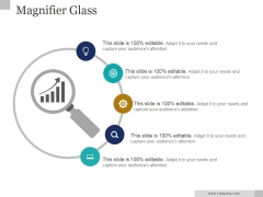 Magnifier Glass Ppt PowerPoint Presentation Backgrounds