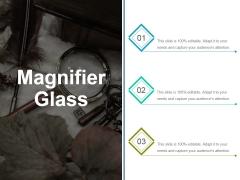 Magnifier Glass Ppt PowerPoint Presentation Ideas Aids