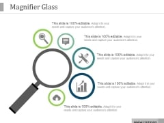 Magnifier Glass Ppt PowerPoint Presentation Ideas