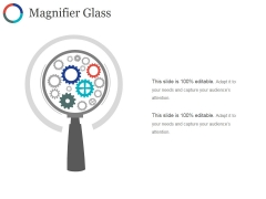 Magnifier Glass Ppt PowerPoint Presentation Professional Sample