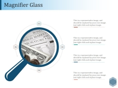 Magnifier Glass Ppt PowerPoint Presentation Slides Example