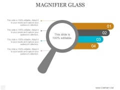 Magnifier Glass Ppt PowerPoint Presentation Visual Aids