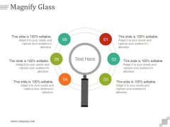 Magnify Glass Ppt PowerPoint Presentation Deck
