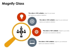 Magnify Glass Ppt PowerPoint Presentation File Objects