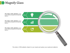 Magnify Glass Ppt PowerPoint Presentation Gallery Graphics