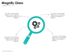 Magnify Glass Ppt PowerPoint Presentation Gallery Sample