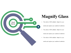 Magnify Glass Ppt PowerPoint Presentation Gallery Skills