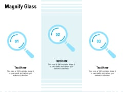 Magnify Glass Ppt PowerPoint Presentation Icon Inspiration