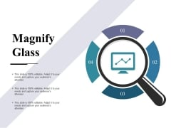 Magnify Glass Ppt PowerPoint Presentation Model Summary