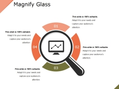 Magnify Glass Ppt PowerPoint Presentation Outline Guide